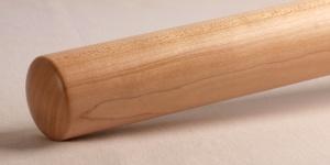 Handlauf Rundhandlauf Rundstab in Ahorn amerikanisch aus Holz individuell lackiert oder geölt gefertigt