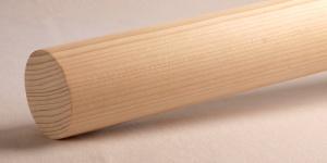 Rundstab Handlauf Rundhandlauf millimetergenau in Fichte Holz lackiert oder geölt gefertigt