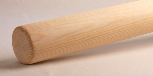 Kiefer Rundhandlauf Handlauf Rundstab aus Echtholz individuell gefertigt lackiert oder geölt
